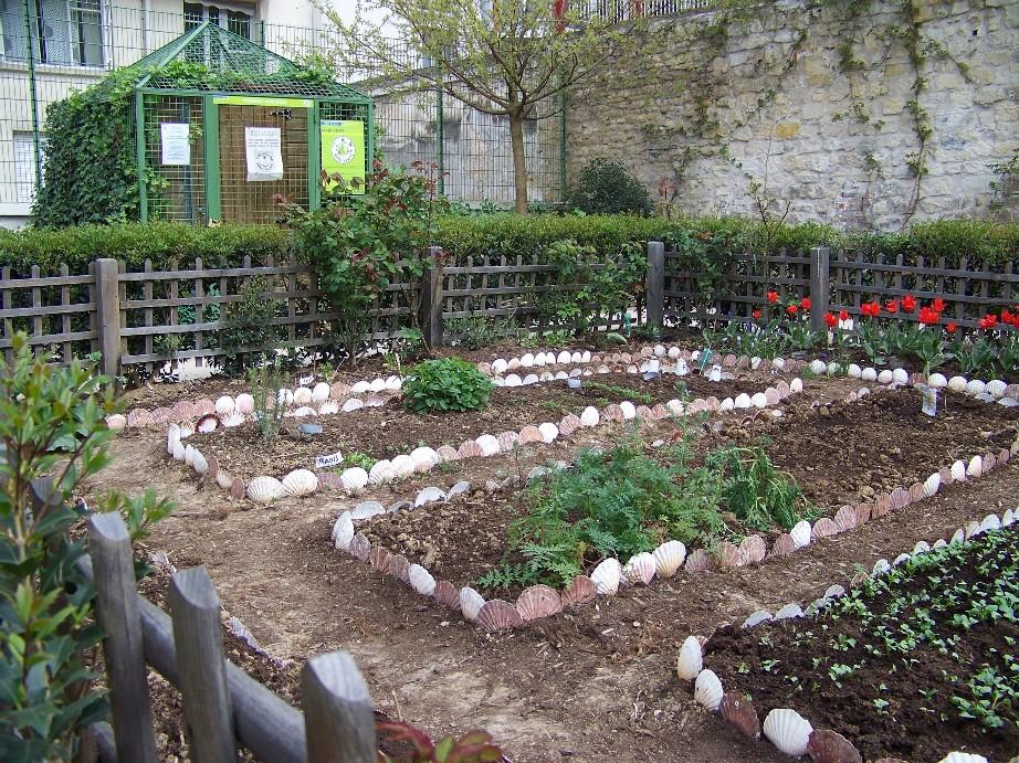 Jardin partage - Jardin potager bio saint denis ...